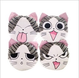 Wholesale Chi Balls - Wholesale- 1pcs 37*33cm chi`s sweet home cheese cat pillow of small, private, sweet cat rice ball stuffed cat pillow cushion for leaning