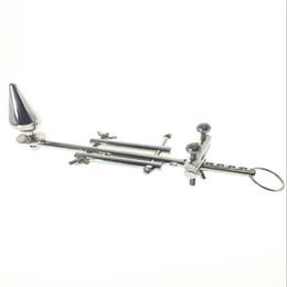 Многофункциональное целомудрие мужской растягивающей сборки, устройство доктора Садо, устройство для подвески в виде тяжестей ручной работы, анальная пробка, секс-игрушки от Поставщики качественные покрывала