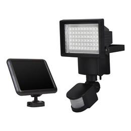 Proyectores de panel solar LED Luz de inundación solar Seguridad al aire libre PIR Sensor de movimiento 60 LED Camino de jardín Lámpara de emergencia de pared desde fabricantes