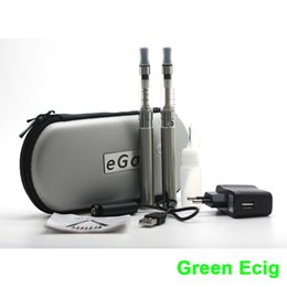 Wholesale Ego T Ce5 Double - Wholesale-eGo CE5 Double Zipper Electronic Cigarette Starter Kits 650mAh 900mAh 1100mAh eGo-T Battery CE5 Atomizer Kit Gifts for Men