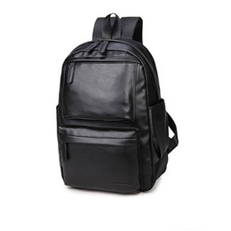 Wholesale Male Computer Backpacks - Wholesale- 2017 Gift For Men School Backpack Computer Laptop Backpack Male High School College Student Bookbag Travel Fashion Men Backpack