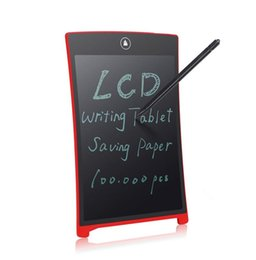 "Wholesale Mini Lcd Boards - hot Parblo 8.5"" LCD Mini Writing Table Writing Board Can Be Used as Whiteboard Bulletin Board Paperless Memo Board B1017"