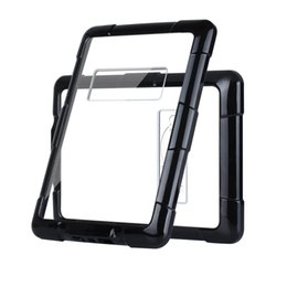 Wholesale Paperwhite Cases - Shockproof PC TPU Protective Cover Corner Protection Black Transparent Case For Kindle Paperwhite With Opp Bag
