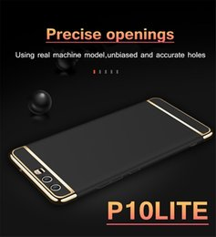 Wholesale Armor Bodies - armor Case Slim 3 In 1 Full Body Shockproof Removable Back Cover for huawei p8 lite p9 lite p10 lite