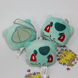Wholesale Mew Poke - 9styles poke plush pendants 8cm cartoon anime plush toys Mew Marshtomp Slowpoke Squirtle Glaceon Flareon stuffed dolls kids gifts bags acc