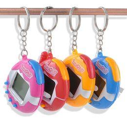 Wholesale Toy Train Wholesale - Fashion 3 Colors 49 Virtual Cyber Pets Toys Funny Tamagotchi Retro Game Funny Toys