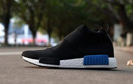 Wholesale New Design Footwear - Wholesale 2016 New Design 100% Top Quality NMD City sock Men And Women Shoes,NMD Sock PK Casual Sports Shoes Fashion Footwear Free Shipping