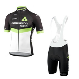 Wholesale Cycling Jersey Mens - 2017 uci world tour pro team dimension data cycling jersey short-sleeve mens summer Quick-Dry Racing Bicycle ropa ciclismo cloth gel pad