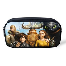 Wholesale Train Purse - Wholesale- New Style Coin Purses For Kids Character How to Train Your Dragon Bag For Children Boys Girls School