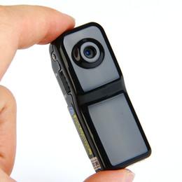 Wholesale Mini Camera Bike - New MD80 Mini Camera Kit 16GB HD DV Camcorder DVR Video Camera Sport Outdoor Helmet Bike Motorbike Camera Video Audio Recorder