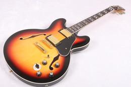 Wholesale Hollow Guitars - 2017 Guitar 335 Vintage sunburst electric guitar new arrival