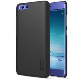 Wholesale Nillkin Cover Case - xiaomi mi6 Case xiaomi mi 6 Cover Nillkin Frosted Shield Back Cover Case For Xiaomi mi6 5.15 inch Case with Screen Protector