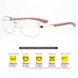 Wholesale Read Bag - Reading Eyeglasses Vintage Prescription Glasses Clear Lens Frames Eyeglasses Men Myopia Opitical Glasses with Original box