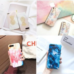 Wholesale Blue Grass Covers - 20colors Marble Chrome Case for iPhone 8 Case Silicone Luxury Marble Cover for iPhone X 7Plus 6s 6 Plus 8 TPU Phone Shell