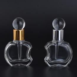 Wholesale Apple Care - Wholesale- MUB - New Arrival 10ml Glass Dropper Bottles Apples Shaped Parfum Bottle Drops