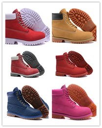 Wholesale Women Clear Transparent Boots - Classic New 2017 Boots women's Transparent Bottom Damping Cushion Insole Ankle Fashion many Colors Outdoor Waterproof Snow Boots