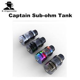 Wholesale first big - 100% Original iJoy Captain Sub Ohm Tank 4ml Big Capacity 510 Thread fit Ijoy PD270 Vape Box Mod First No Thread Coil