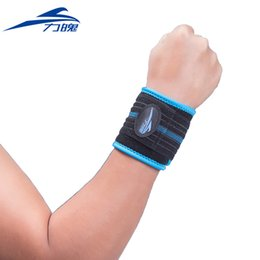 Wholesale Tourmaline Bands Wholesale - Wholesale- Tourmaline Self-heating Magnetic Therapy Wrist Brace Band Relief Pain Elastic Breathable Wrist Support Brace Posture Corrector