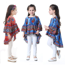 Wholesale Wholesale Peacock Print Dress - 2017 New children's clothing fairy little beauty dress dress peacock princess dress kids clothes for girls Baby K020