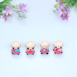 Wholesale Cute Love Dolls - Set Of 4Pcs Cute Auto Car Interior Resin Pig LOVE Lovely Decoration Home Decor
