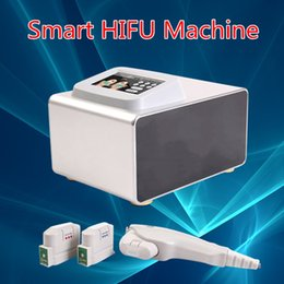 Wholesale Mm Machines - Face Lifting mini Hifu Machine Skin Tightening Wrinkle Removal With 3 Cartridges 1.5mm 3.0 mm 4.5mm