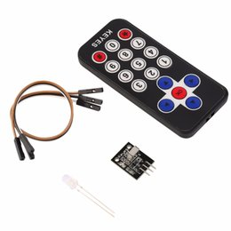 Wholesale Infrared Remote Control Receiver - Wholesale-in Stock! Infrared IR Wireless Remote Control Receiver Module Kit for Arduino High quality