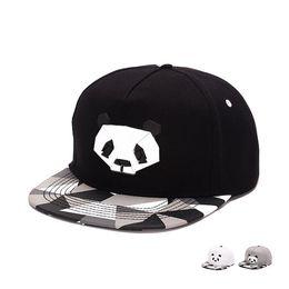 Wholesale Penguin Animal Hat - Men Solid Flat Bill Hip Hop Snapback Baseball Cap Lovely Panda Women men penguin snapback hat