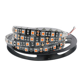 Wholesale Wired Christmas Ribbon - Black PCB 5M Led Strip 5050 SMD Non-Waterproof IP20 60Leds   M Fita Flexible Ribbon String Led Tape Lamp For Christmas Holiday