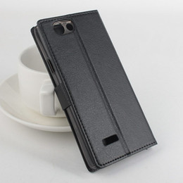 Wholesale Book Cover Purse - Fashion Leather Book Style Purse Fundas Case For ZTE Blade L2 For ZTE Blade L2 Cover With Card & Money Slots and Bracket