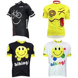 Customized NEW Hot 2017 JIASHUO FUNNY Biking mtb road RACING Team Bike Pro  Cycling Jersey Shirts   Tops Clothing Breathing Air Chooses 58238a94c