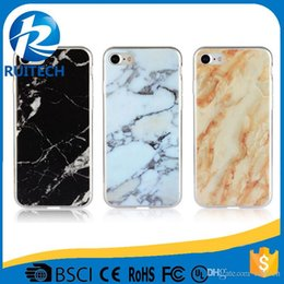 Wholesale Phones Casing Supplier - China Suppliers IMD Printing Marble Texture TPU Cell Phones Case Back Cover for iPhone