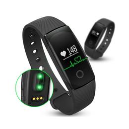 2019 наручные часы для телефона Fitbit Smart Watch ID107 Bluetooth 4.0 смарт браслет с Heart Rate Monitor фитнес-трекер спортивные наручные часы для Android IOS 7.1 телефон дешево наручные часы для телефона