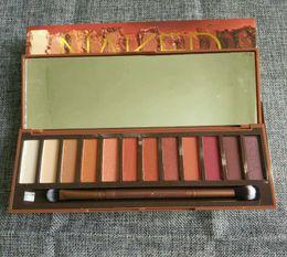 Wholesale Eye Shadow 12 - Hot Heat Palette NK Eye Shadow Palette 12 color Eyeshadow Makeup DHL Free Shipping