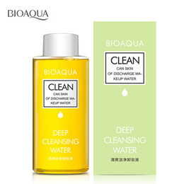 Wholesale Cleansers For Face - Wholesale-150ML Make Up Remover Deep Cleansing Water Face Cleansing Makeup Removing Oil for Eye Lip Face Cleanser Gentle Zero Stimulation