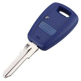 Wholesale Fiat Punto - Guaranteed 100% Uncut Blade Remote Key Shell Case for Fiat Stilo Punto Seicento Flip Fob Car Key Case NO Chip Keyless Entry Key Free Shippin