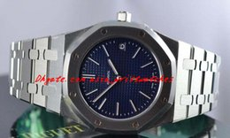 Wholesale Thinnest Automatic Watch - Luxury Watches Ultra Thin st.oo.1240st.01 Blue 39mm Automatic Mens Watch Men Watches Men's Watch Top Quality