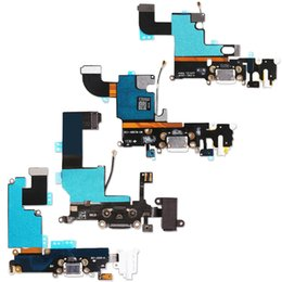 Wholesale Iphone 5s Charger Cables - Charger Charging port Dock USB connector flex cable For iPhone 5 5S 5C 6 6S Plus 6Plusribbon replacement Parts