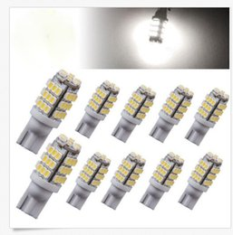 Wholesale led brake light bulb red - 50PCS T10 42SMD White Car 42-smd Backup Reverse LED Light Bulb 921 912 906 168 W5W