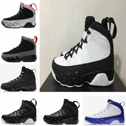 Wholesale Rose Eva - Air retro 9 9s men basketball shoes OG Space Jam Tour Yellow PE Anthracite The Spirit Johnny Kilroy doernbecher 2010 release sports Sneakers