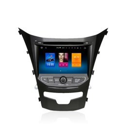 Wholesale Sat Nav Stereo - For Ssangyong Korando Actyon 2014+ Android 6.0 Octa Core Autoradio Car Radio Stereo GPS Navigation Multimedia Media System Sat Nav NO DVD
