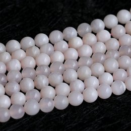 "Wholesale Calcite Ball - Natural Genuine Pink Calcite Round Jewellery Loose Ball Beads 15.5"" 05103"