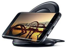 Cargador rápido inalámbrico universal Cargador de teléfono de carga vertical para Samsung Galaxy Note5 S6 Edge Plus S7 S7 EDGE S8 EDGE PLUS DHL desde fabricantes