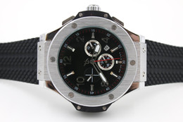 Wholesale Watch Cases China - h whosale t auto date 4279 46mm hot AAA+ quality china back automatic sport case stainless steel Promotion fashion male watch man wristwatch