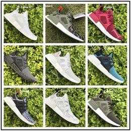Wholesale Glitter Socks - 2017 NMD Runner 3 III XR1 Camo x City Sock PK Navy NMD_XR1 Primeknit Running Shoes For Men Women Fashion Sports Sneakers Trainers