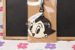 Wholesale Astro Boy Toys - Wholesale-1pcs Astro Boy bag Pendant Travel Name Tag Novelty toys