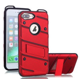 Wholesale Cool Galaxy Cases - Cool Hybrid 2 in 1 Case for iphone7 Armor Hard PC TPU Back Cover for Samsung Galaxy J2 Prime J5 Prime J7 Prime