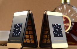 huawei ascend dual sim téléphones Promotion Daren F801 à clapet téléphone mobile en gros double écran chez les personnes âgées flip téléphone vieil homme vieil homme téléphone mobile