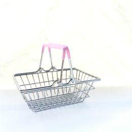 Мини супермаркет корзина детские игрушки настольные косметические метизы организатор железа корзина для хранения 3 Размеры ZA4097 от