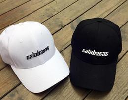 Wholesale White Polo Cap - Calabasas Kanye West season 4 TLOP Yeezus Polo Style Dad Cap Baseball Low Profile suprem Dad LA Hat