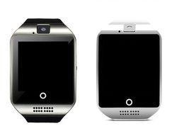 android reloj inteligente nfc Rebajas Q18 Bluetooth Smartwatch Smart Sport Tracker Watch Soporte Tarjeta SIM TF Tarjeta NFC Conexión Salud Relojes inteligentes para Android Smartphone